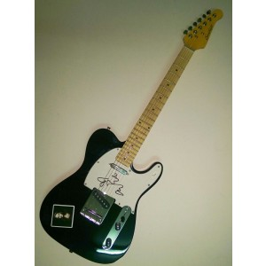 Adele signed guitar