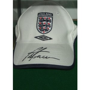 Signed Alan Shearer Cap