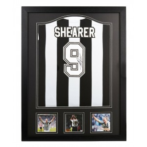 Alan Shearer Signed Newcastle United Shirt
