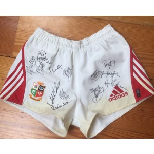 British Lions Signed Shorts