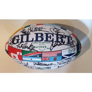 Australian 1999 RWC Signed Rugby Ball