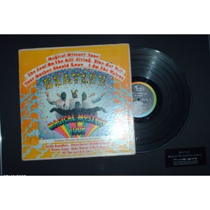 Signed Beatles Magical Mystery Tour LP