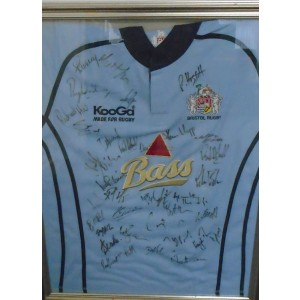 Bristol Rugby Signed Rugby Shirt