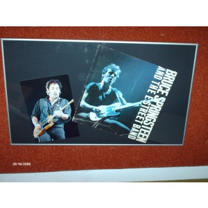 Signed Bruce Springsteen Photo
