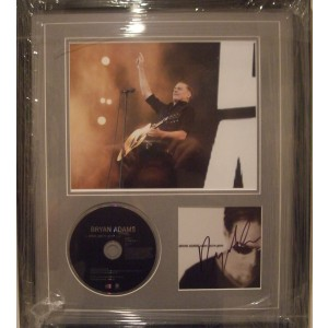 Signed Bryan Adams Cd