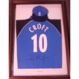 Robert Croft Signed England Cricket Match Shirt