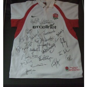 Danny Grewcock Signed Rugby Shirt