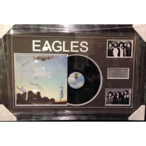 Eagles Signed Album