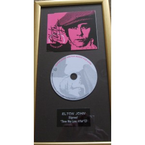 Elton John Signed Are You Ready For Love