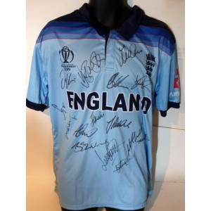 England 2019 world champions signed cricket shirt
