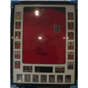 England World Cup Winners Signed Shirt