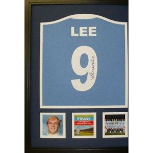 Francis Lee Signed Manchester City Shirt