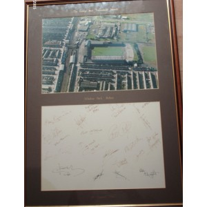 George Best Signed Testomonial