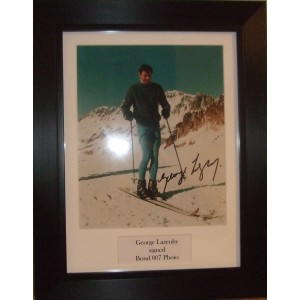 George Lazenby Signed Photo