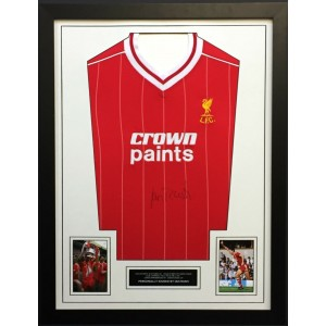 Ian Rush Signed Liverpool Shirt