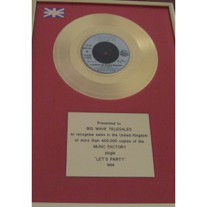 Jive Bunny Gold Disc