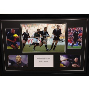 Signed Jonah Lomu Photo