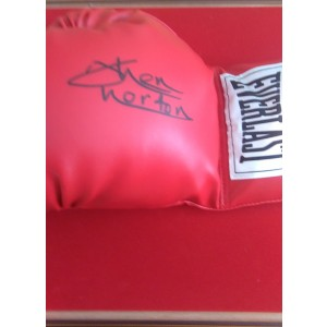 Ken Norton Signed Boxing Glove