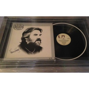 Kenny Rogers Signed Album