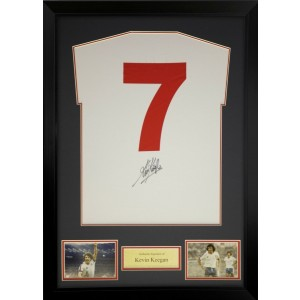 Kevin Keegan Signed England Shirt