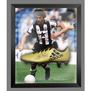 Kevin Keegan Signed Newcastle Football Boots