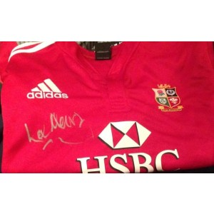 British Lions Signed Shirt