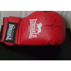 Lennox Lewis Signed Boxing Glove