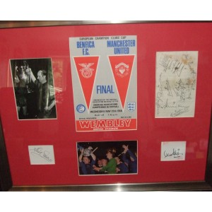 MUFC Signed European Cup