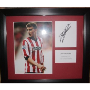 Nicklas Bendtner Signed Photo