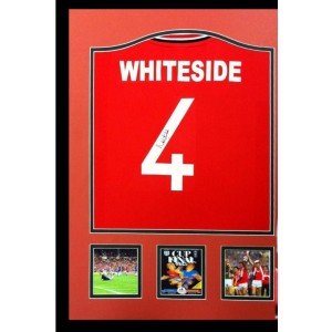 Norman Whiteside Signed Manchester United Shirt