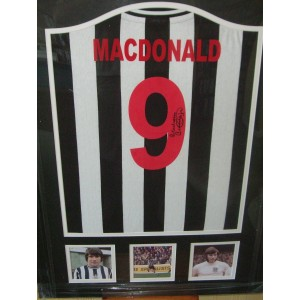 Signed Malcolm MacDonald Shirt