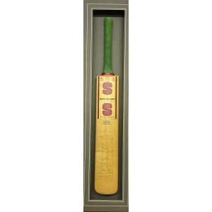England Signed Cricket Bat 1995