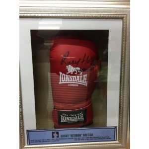 Ricky Hatton Autographed Boxing Glove