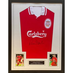 Robbie Fowler Autographed Liverpool Shirt