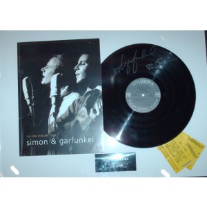 Simon  & Garfunkel Signed Album