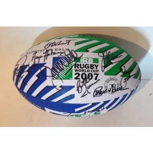 South Africa 2007 RWC Signed Rugby Ball