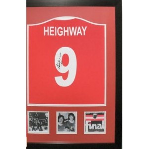 Steve Heighway Signed Liverpool Shirt