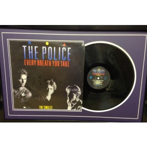 Signed Sting Police Album