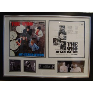 The Who Autographed Album