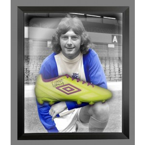Trevor Francis Signed Football Boots