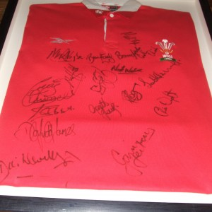 Wales Five Nations 1999 Signed Shirt